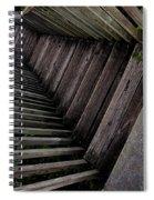 Vertigo - Stairs To The Unknown Spiral Notebook