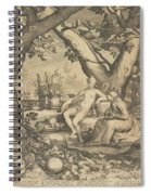 Vertumnus And Pomona, 1605  Spiral Notebook