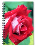 Very Dewy Rose Spiral Notebook