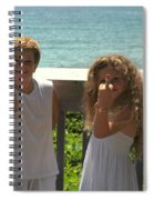 Very Naughty Angels Spiral Notebook