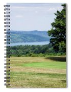 Vesper Hills Golf Club Tully New York 1st Tee Signage Spiral Notebook