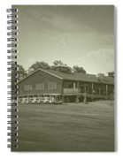 Vesper Hills Golf Club Tully New York Antique 01 Spiral Notebook