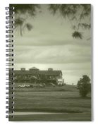 Vesper Hills Golf Club Tully New York Antique 02 Spiral Notebook