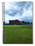 Vesper Hills Golf Club Tully New York Before The Storm Spiral Notebook