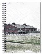 Vesper Hills Golf Club Tully New York Pa 01 Spiral Notebook