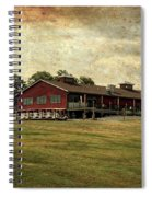 Vesper Hills Golf Club Tully New York Textured Spiral Notebook