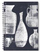Vessel Sampler- Art By Linda Woods Spiral Notebook