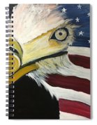 Veteran's Day Eagle Spiral Notebook