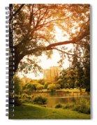 Veterans Park Lagoon Spiral Notebook