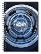 Vette Wheel Spiral Notebook