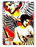 Vexed Angel Spiral Notebook
