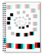 Vexer 2 - Use Red-cyan 3d Glasses Spiral Notebook