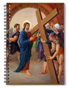 Via Dolorosa - Jesus Takes Up His Cross - 2 Spiral Notebook