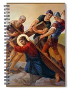 Via Dolorosa - Stations Of The Cross - 3 Spiral Notebook