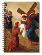 Via Dolorosa - Veil Of Saint Veronica - 6 Spiral Notebook