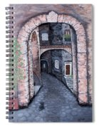Via In Scanno Spiral Notebook