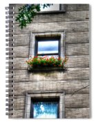 Vibrance In A Sea Of Grey Spiral Notebook
