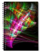 Vibrant Energy Swirls Spiral Notebook