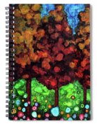 Vibrant Forest Spiral Notebook
