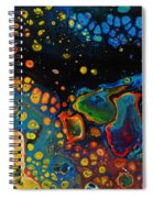 Vibrant Galaxy. Spiral Notebook