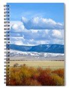 Vibrant Montana Spiral Notebook