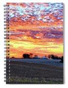 Vibrant October Spiral Notebook
