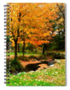 Vibrant October Spiral Notebook