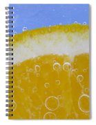 Vibrant Orange Spiral Notebook