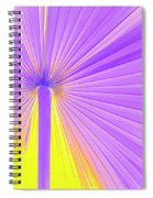 Vibrant Palm Frond Square Spiral Notebook
