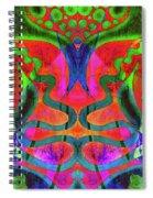 Vibrant Swirls Spiral Notebook