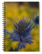Vibrant Thistles Spiral Notebook
