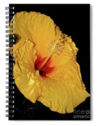 Vibrant Yellow Hibiscus By Kaye Menner Spiral Notebook
