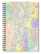 Vibrations Spiral Notebook