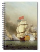 Vice Admiral Sir George Anson's Spiral Notebook