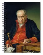 Vicente Portaia Lopez  Felix Maximo Lopez First Organist Of The Royal Chapel 1820 Spiral Notebook