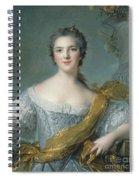 Victoire De France At Fontevrault Spiral Notebook