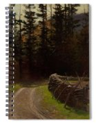 Victor Coleman Anderson  1882  1937 Road By The Woods Spiral Notebook