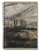 Victor Hugo   Gallows Of Montfaucon   1847 Spiral Notebook