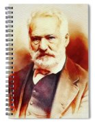 Victor Hugo, Literary Legend Spiral Notebook
