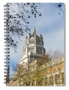 Victoria And Albert Museum London Spiral Notebook