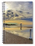Victoria Beach Early Morning  Spiral Notebook
