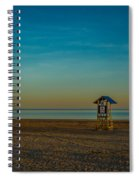 Victoria Beach Spiral Notebook