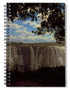 Victoria Falls, Zimbabwe Spiral Notebook