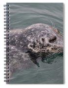 Victoria Seal  Spiral Notebook