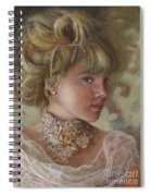 Victorian Beauty Spiral Notebook
