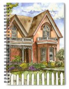 Victorian Beauty Spiral Notebook