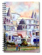 Victorian Cape May New Jersey Spiral Notebook