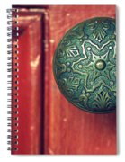 Victorian Door Handle Spiral Notebook