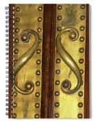Victorian Door Pulls Spiral Notebook
