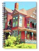 Victorian Spiral Notebook